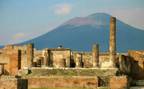 Vesuvius and Ruins of Pompeii